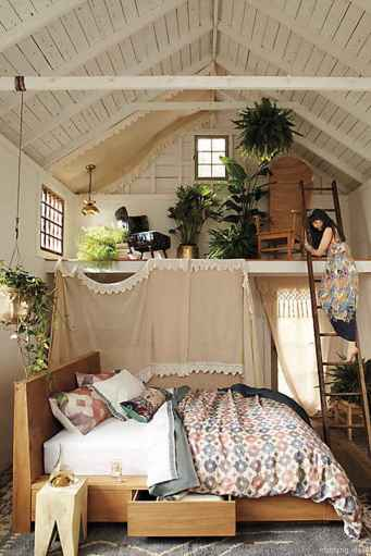 42 genius rustic storage bed design ideas
