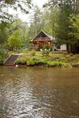 46 rustic log cabin homes design ideas