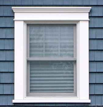 47 modern rustic window trim ideas