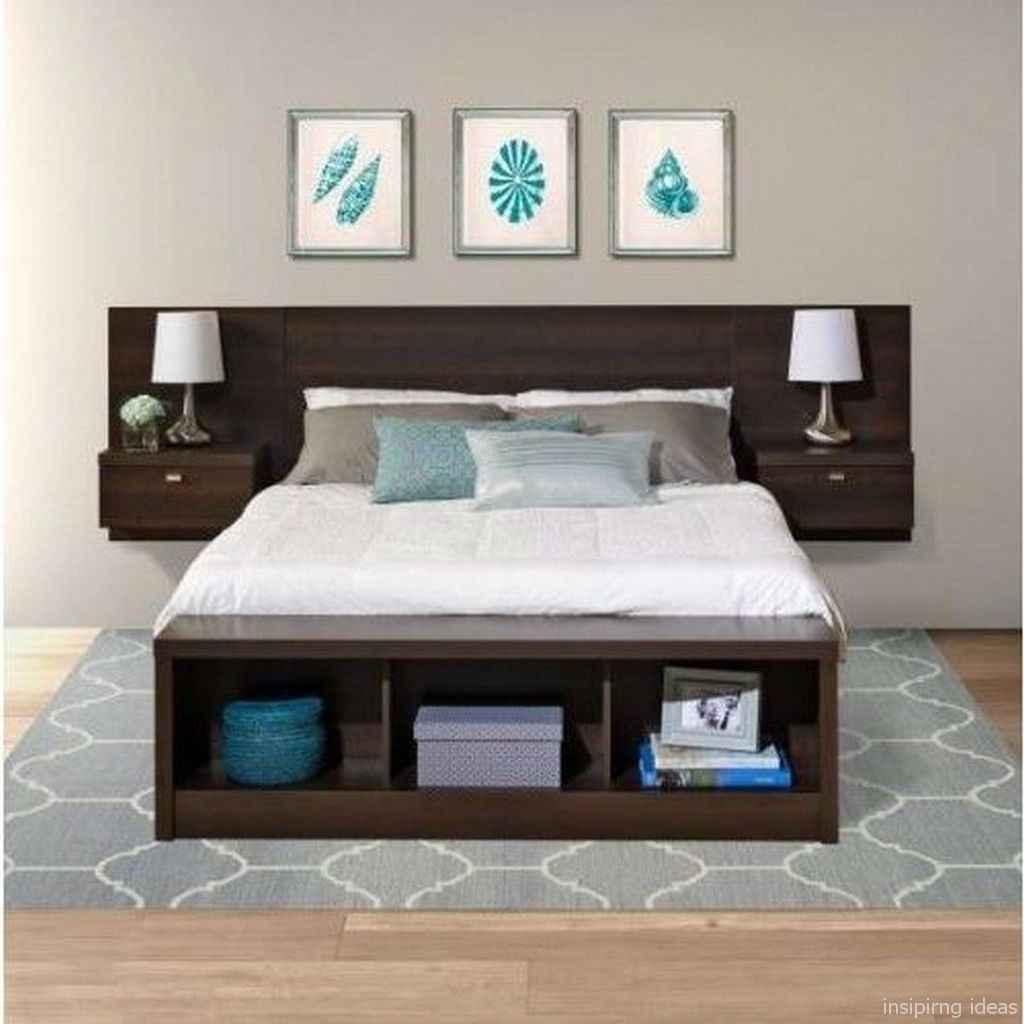 49 genius rustic storage bed design ideas