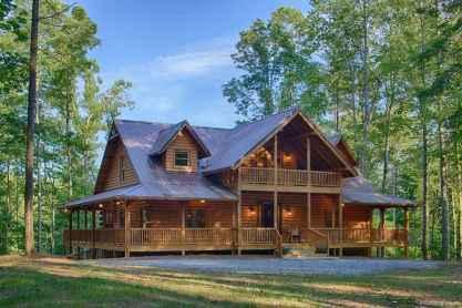 49 rustic log cabin homes design ideas
