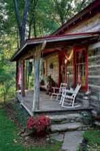 50 rustic log cabin homes design ideas
