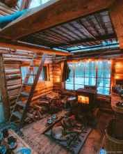 51 rustic log cabin homes design ideas