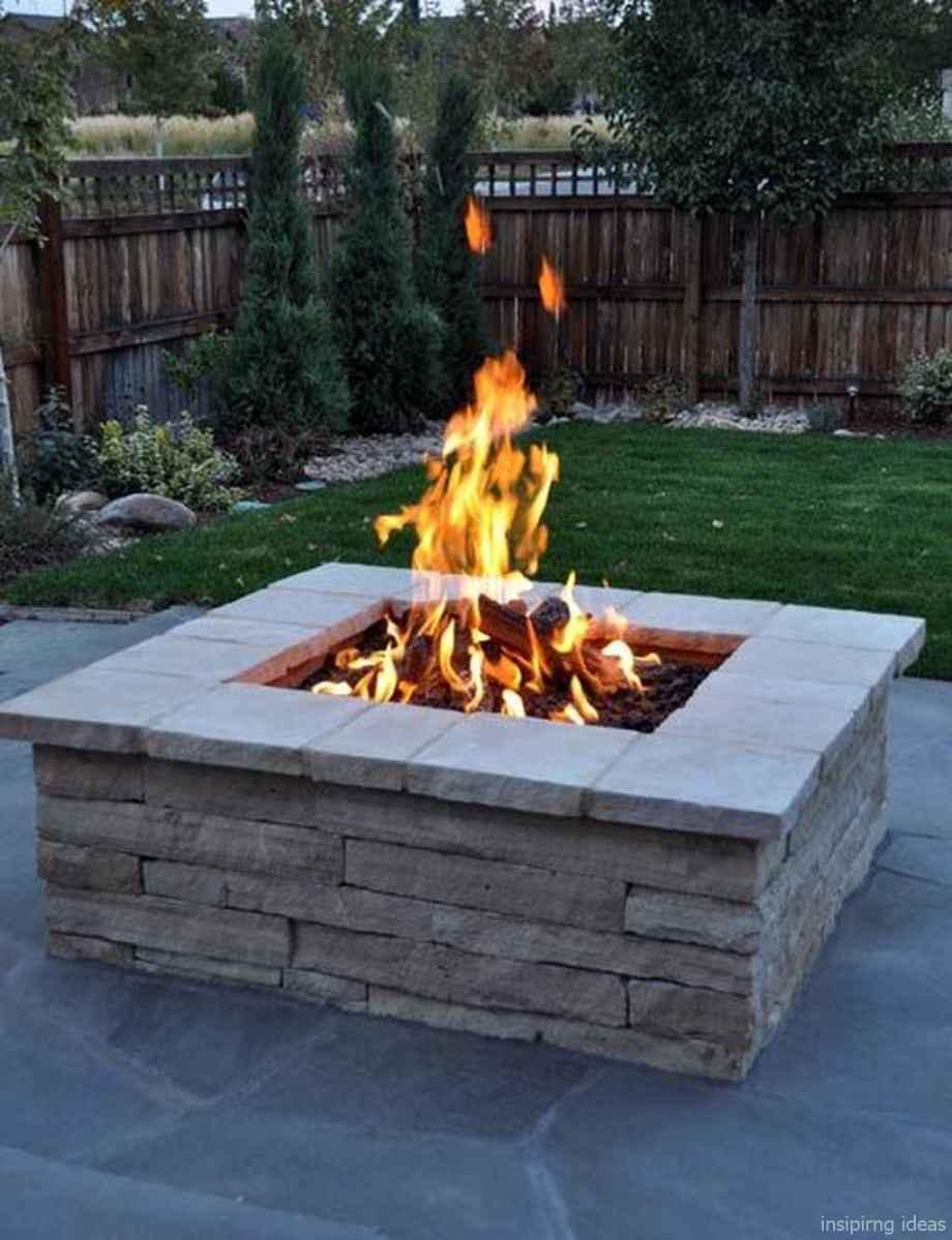57 diy backyard fire pits design ideas
