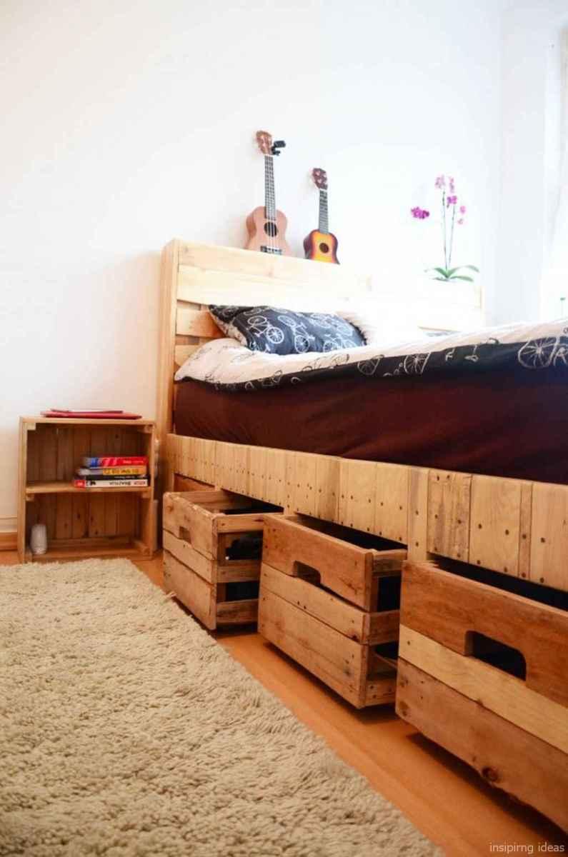 58 genius rustic storage bed design ideas