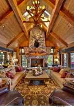 59 rustic log cabin homes design ideas