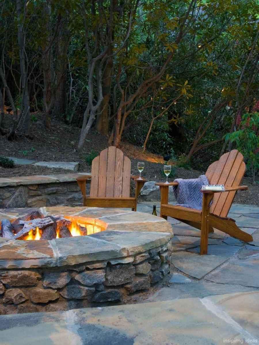 61 diy backyard fire pits design ideas