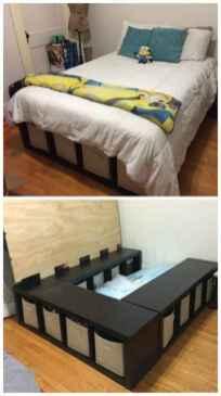 62 genius rustic storage bed design ideas