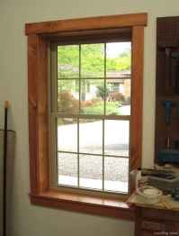 65 modern rustic window trim ideas