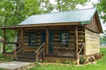 65 rustic log cabin homes design ideas