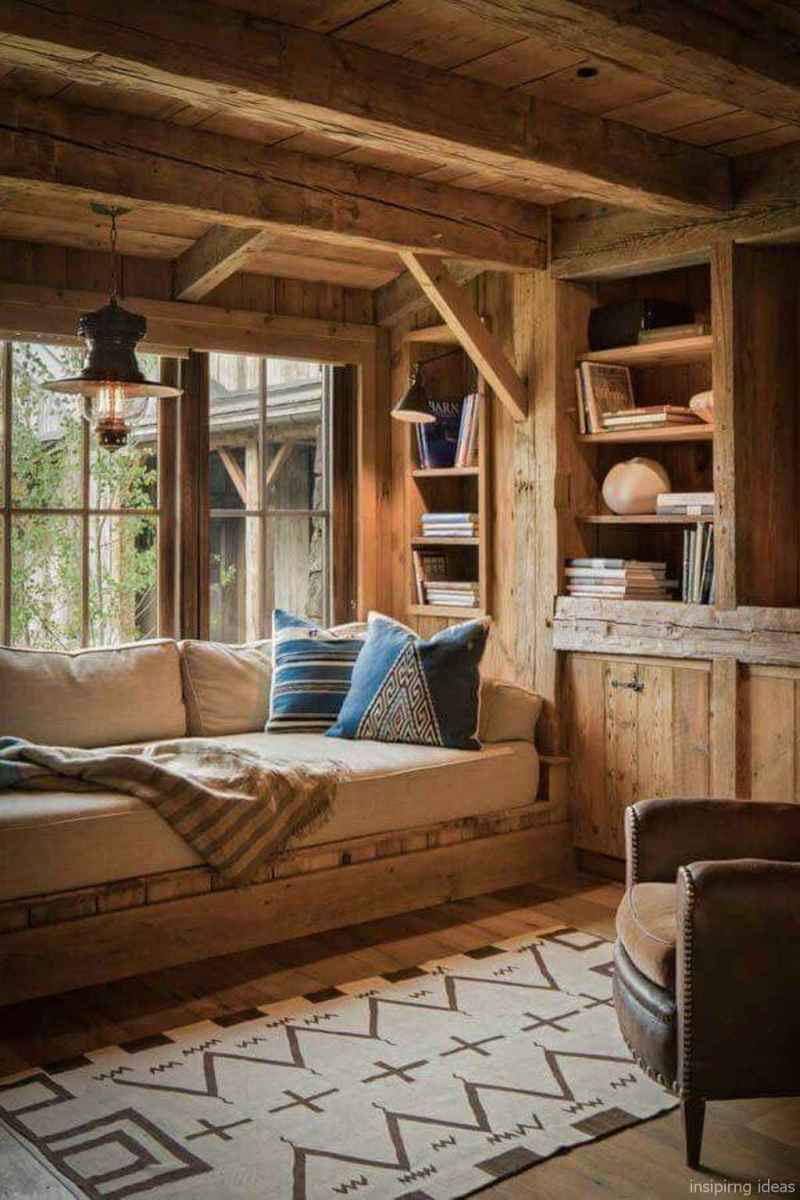7 rustic log cabin homes design ideas