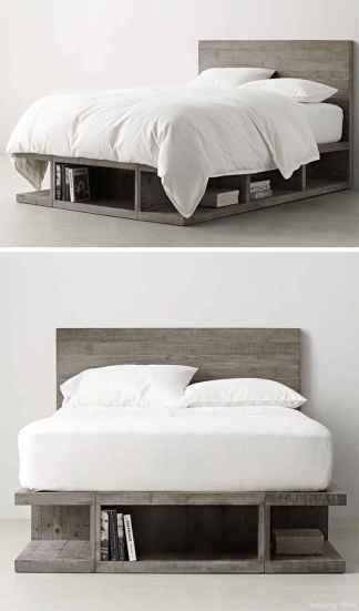 71 genius rustic storage bed design ideas