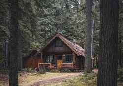 75 rustic log cabin homes design ideas