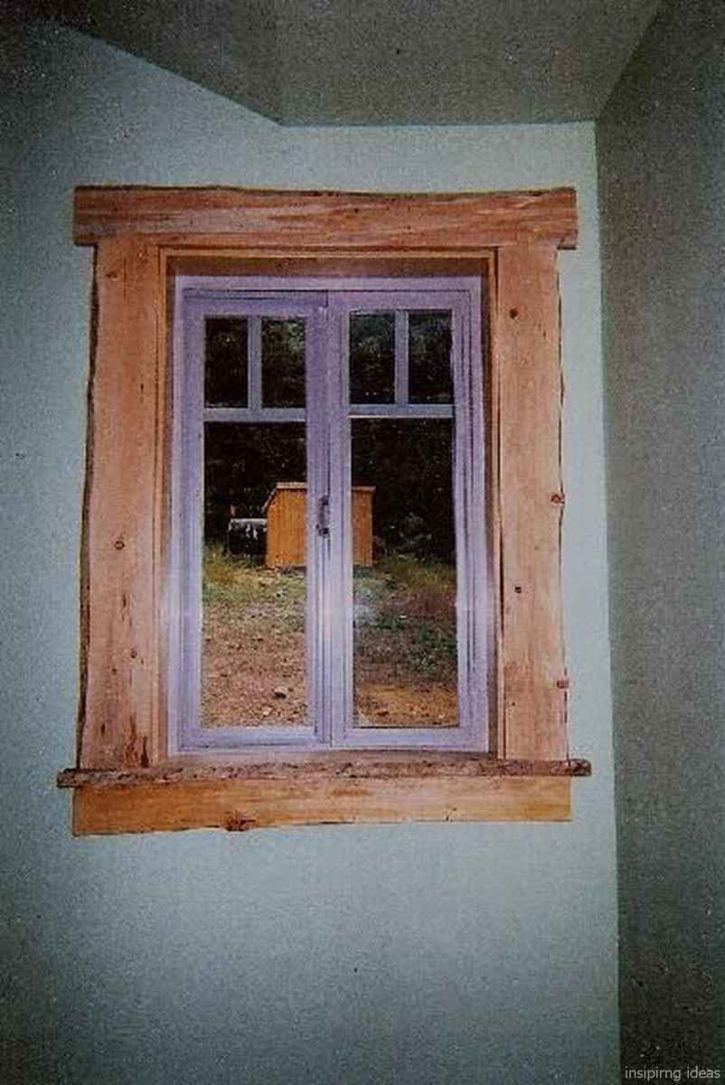 78 modern rustic window trim ideas