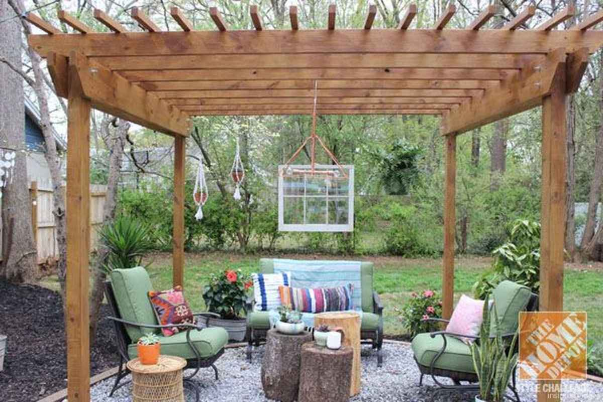 80 awesome gravel patio ideas with pergola