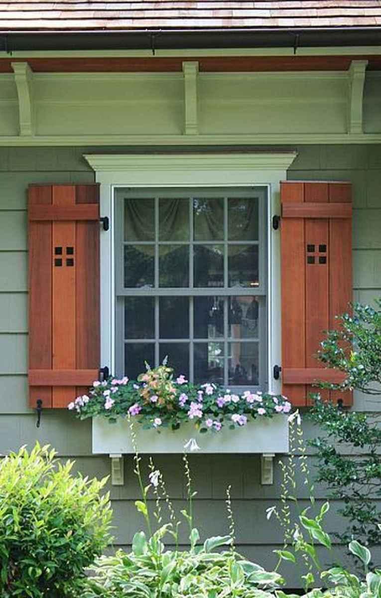 80 modern rustic window trim ideas