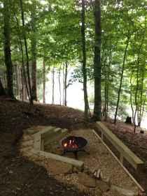 85 diy backyard fire pits design ideas
