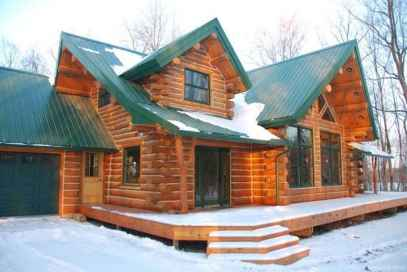85 rustic log cabin homes design ideas