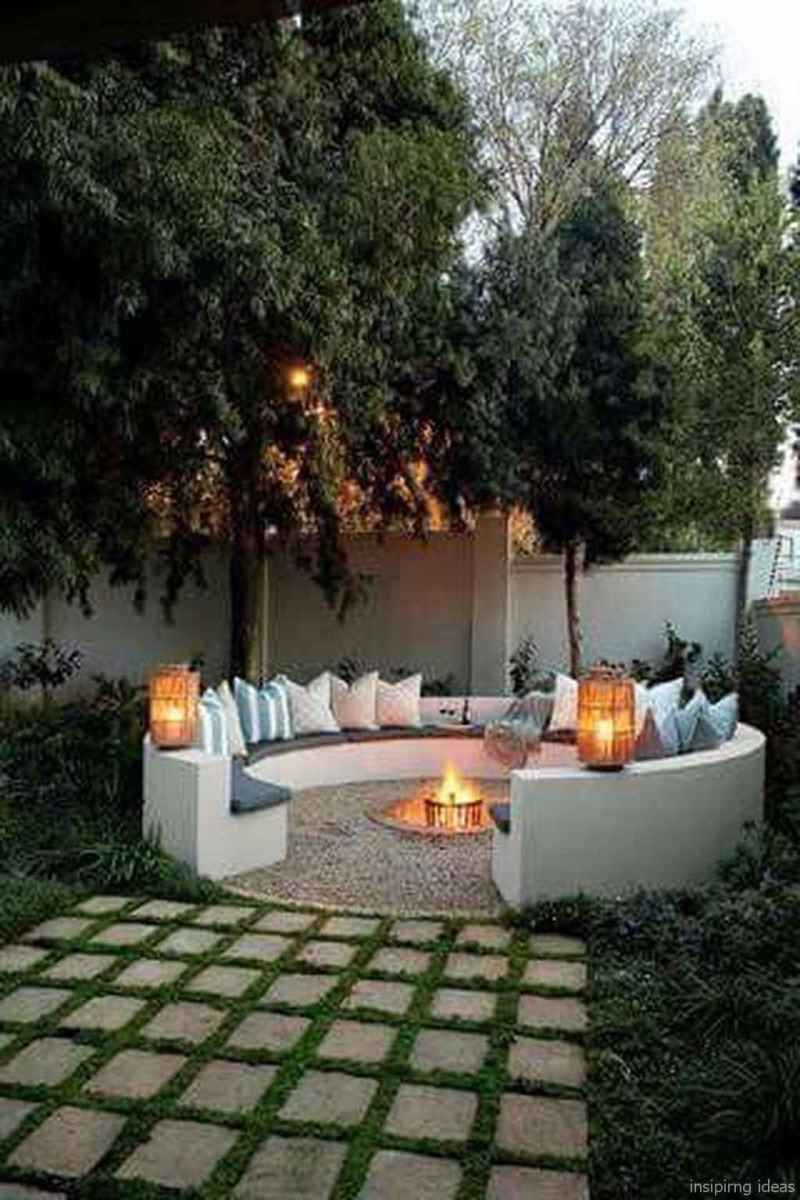 87 diy backyard fire pits design ideas