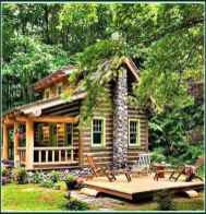 95 rustic log cabin homes design ideas