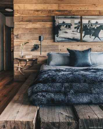 Rustic home decor ideas for bedroom 13