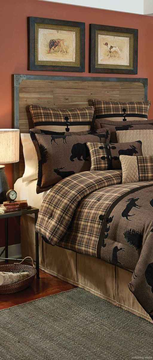 Rustic home decor ideas for bedroom 26