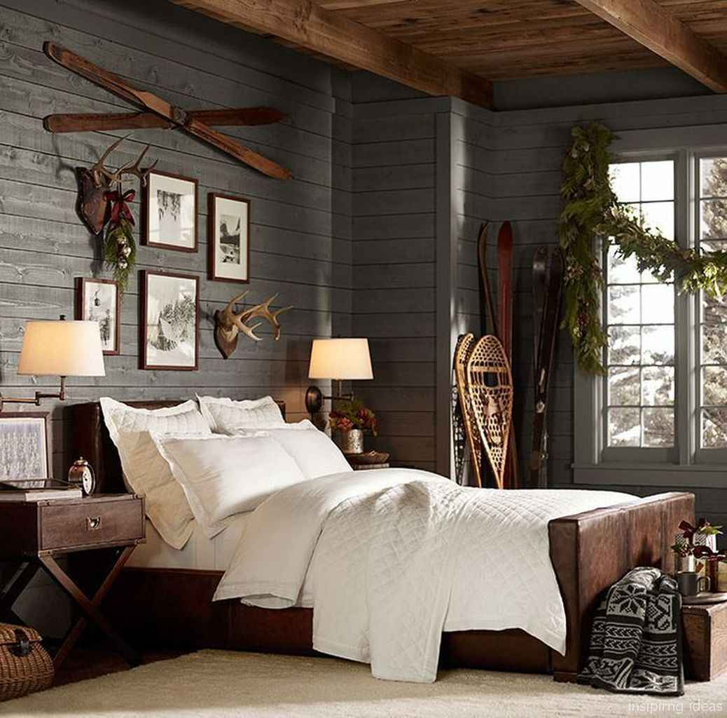 Rustic home decor ideas for bedroom 27