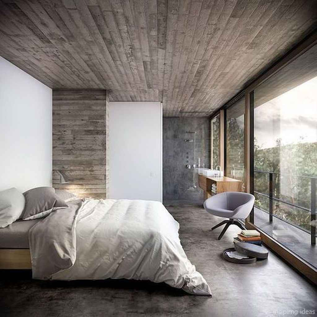 Rustic home decor ideas for bedroom 32