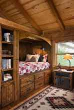 Rustic home decor ideas for bedroom 38