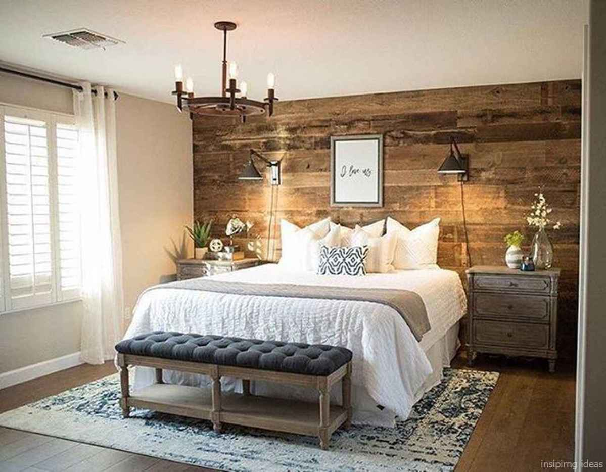 Rustic home decor ideas for bedroom 64