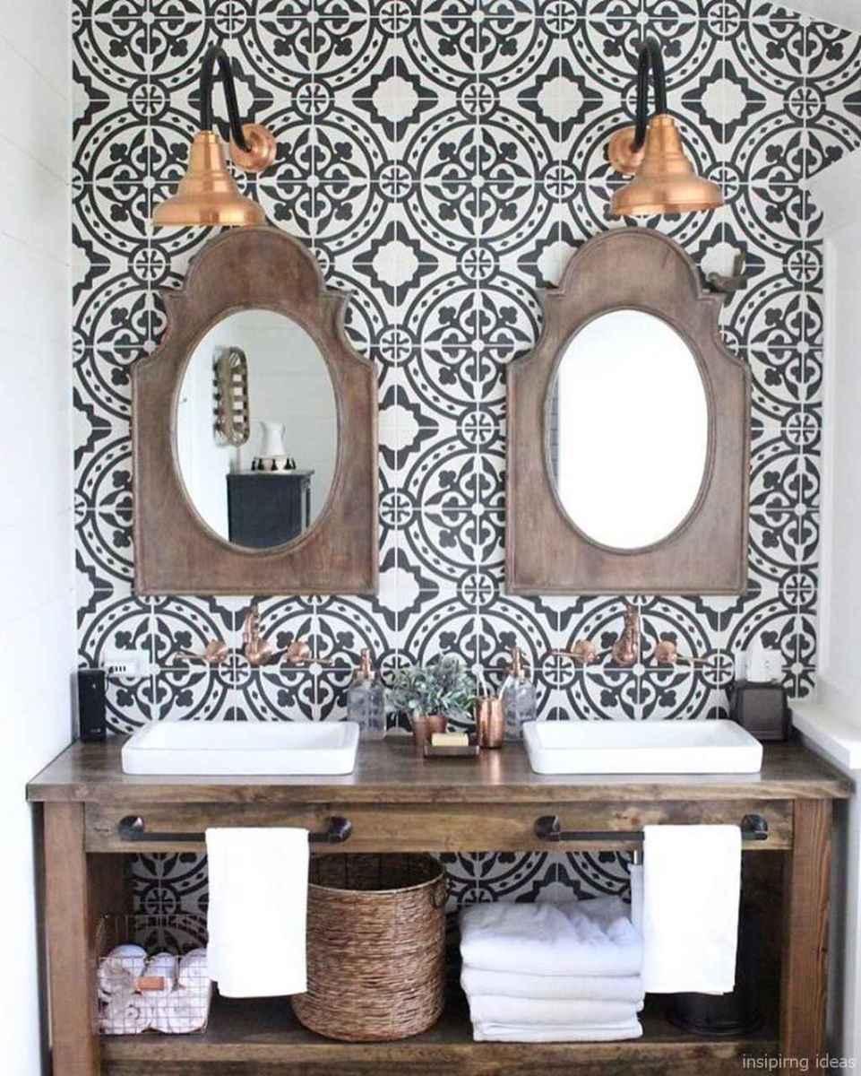 06 fabulous modern farmhouse bathroom vanity ideas