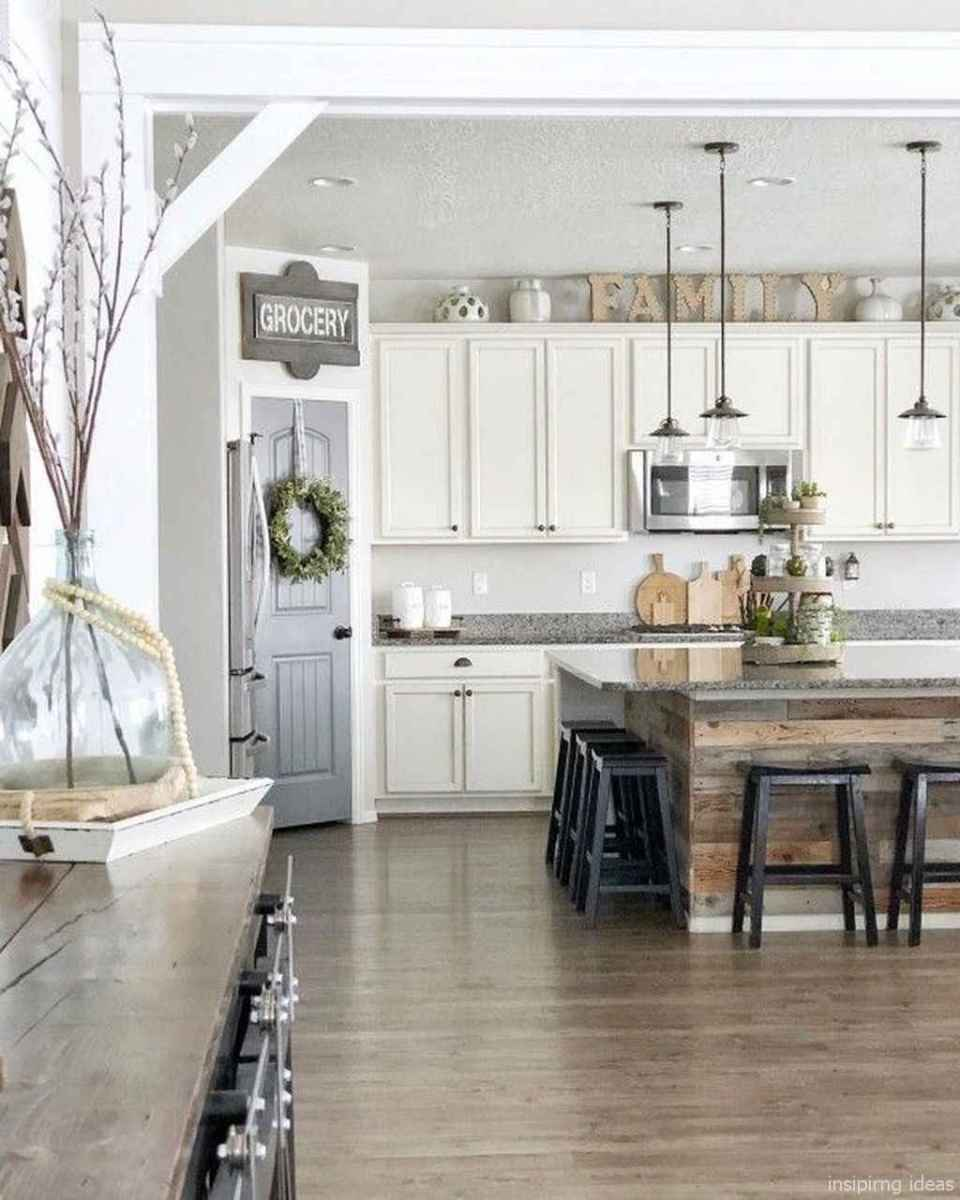 34 beautiful farmhouse kitchen decor ideas