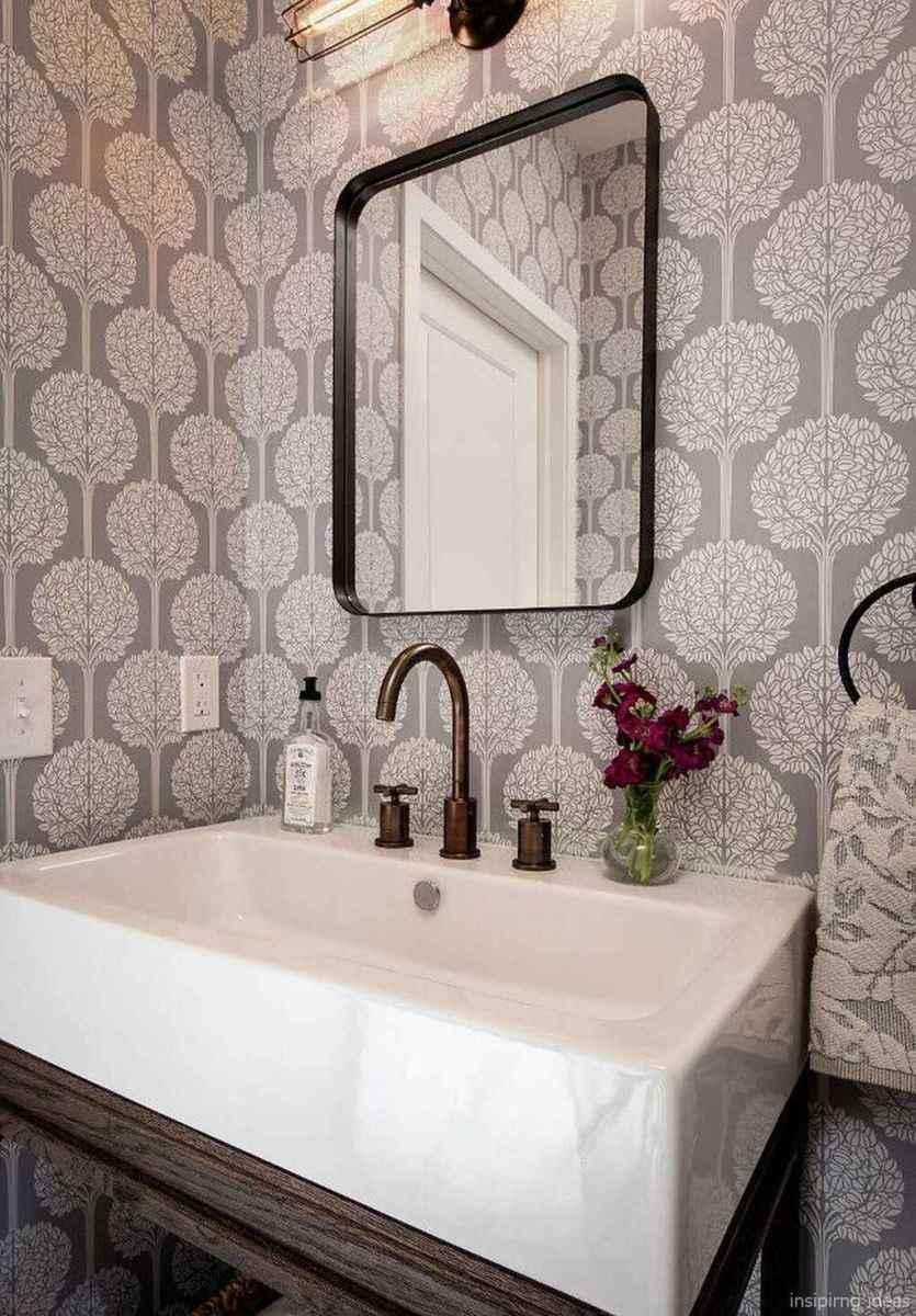 50 modern farmhouse small bathroom wall color ideas 1