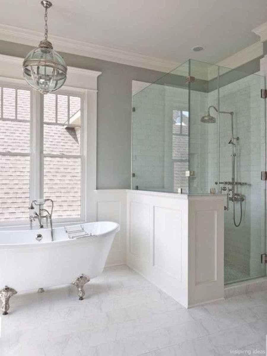 50 modern farmhouse small bathroom wall color ideas 13
