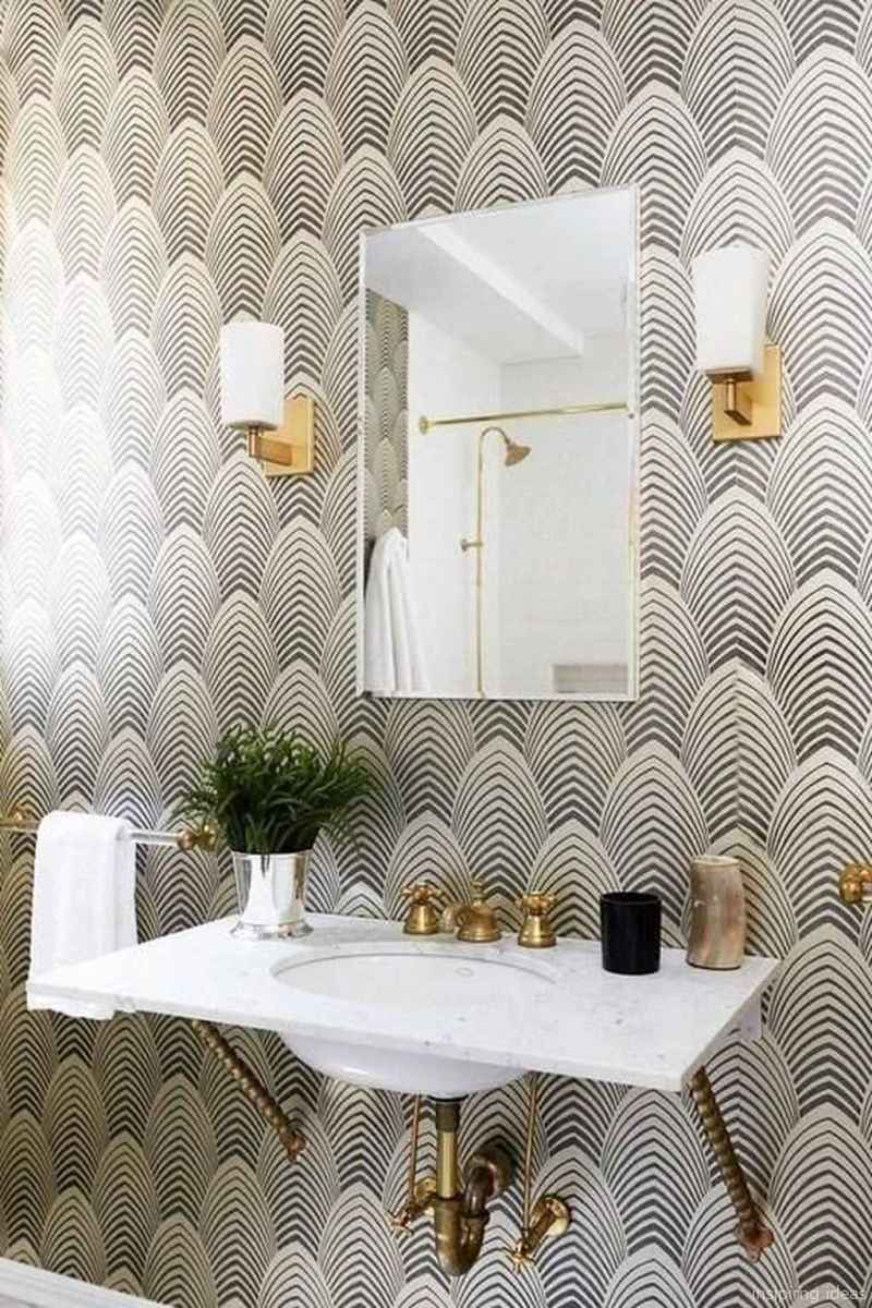 50 modern farmhouse small bathroom wall color ideas 14