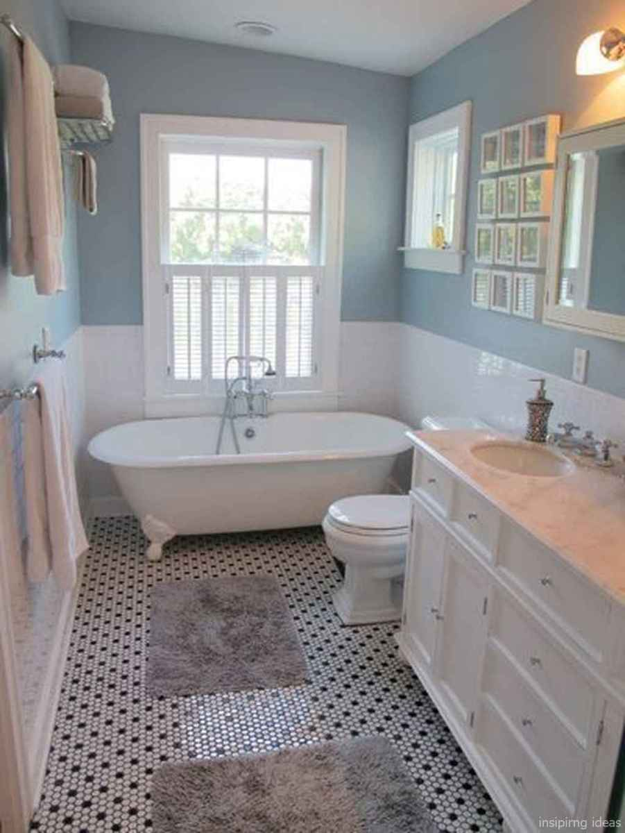 50 modern farmhouse small bathroom wall color ideas 21