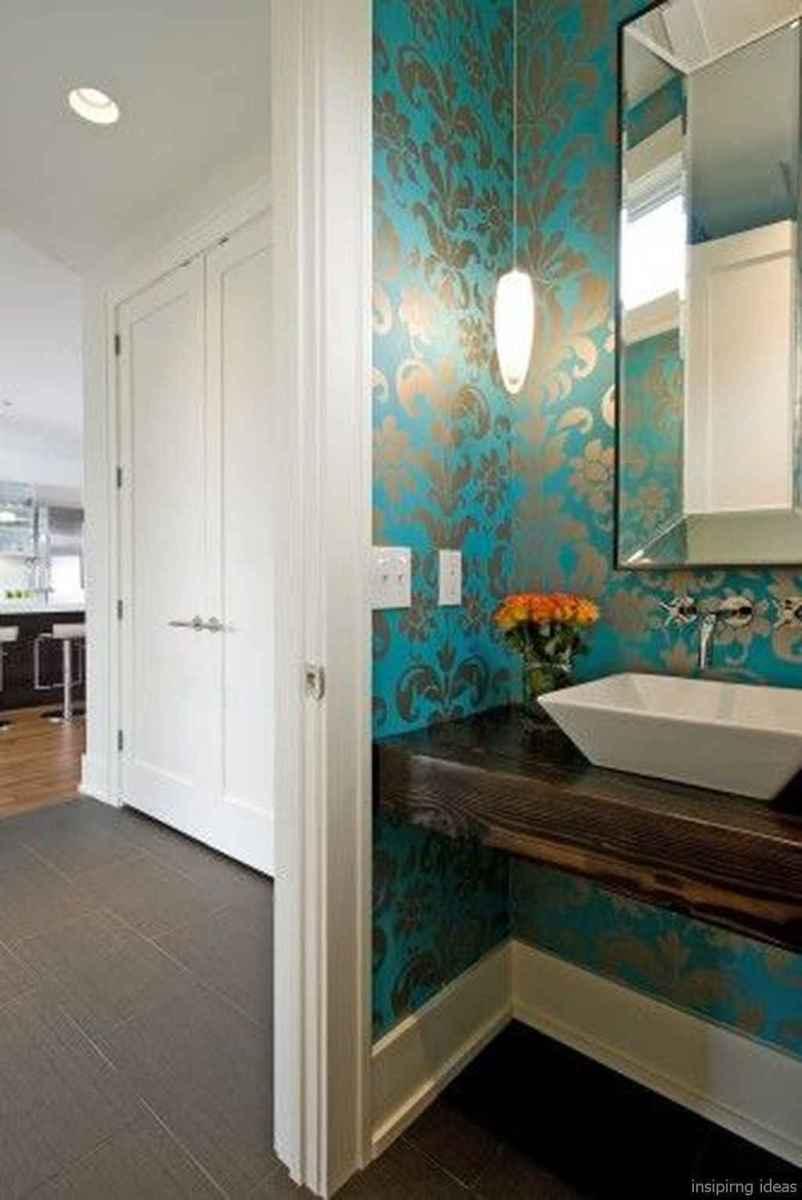 50 modern farmhouse small bathroom wall color ideas 3
