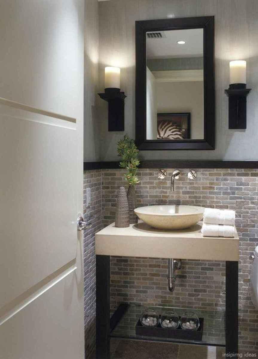 50 modern farmhouse small bathroom wall color ideas 46