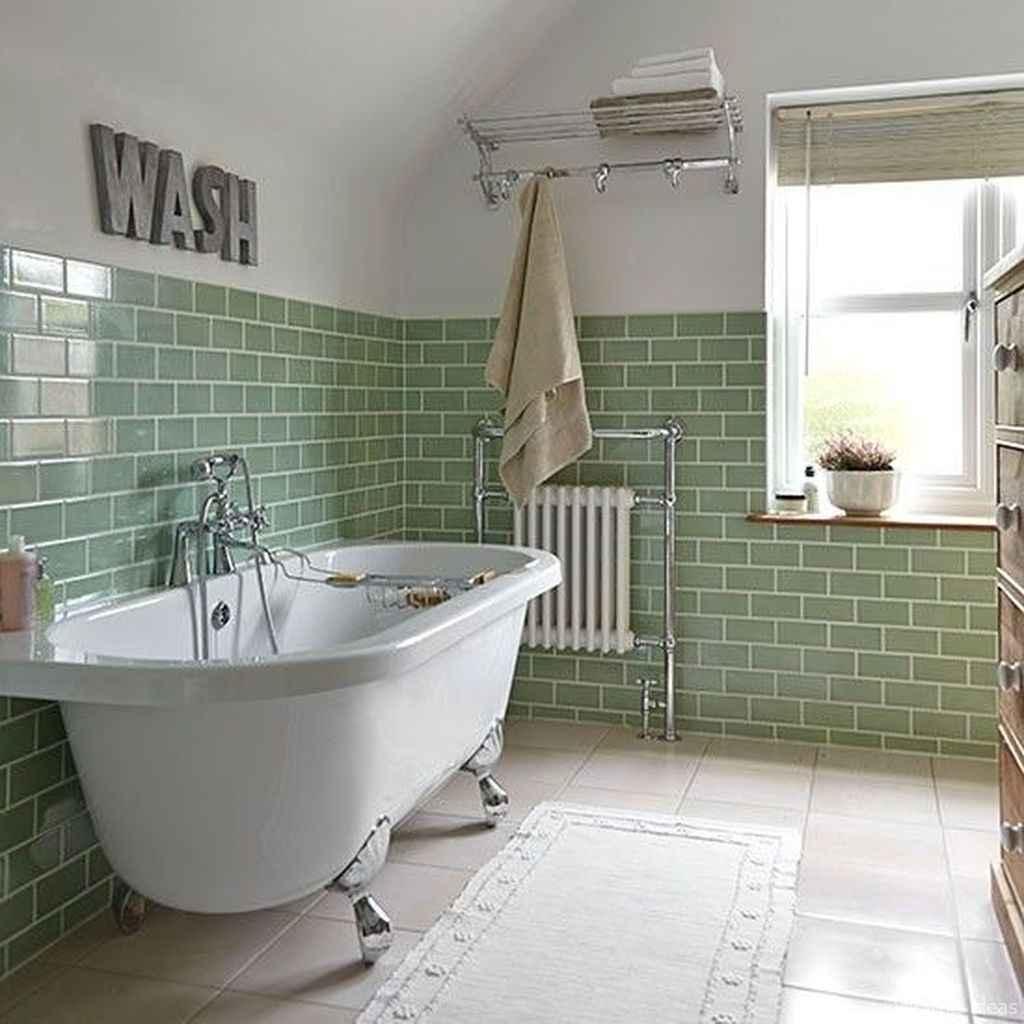 50 modern farmhouse small bathroom wall color ideas 49