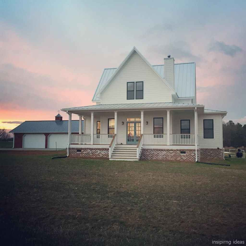 70 affordable modern farmhouse exterior plans ideas 37