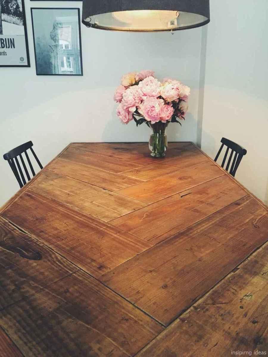 Awesome farmhouse kitchen table design ideas 02