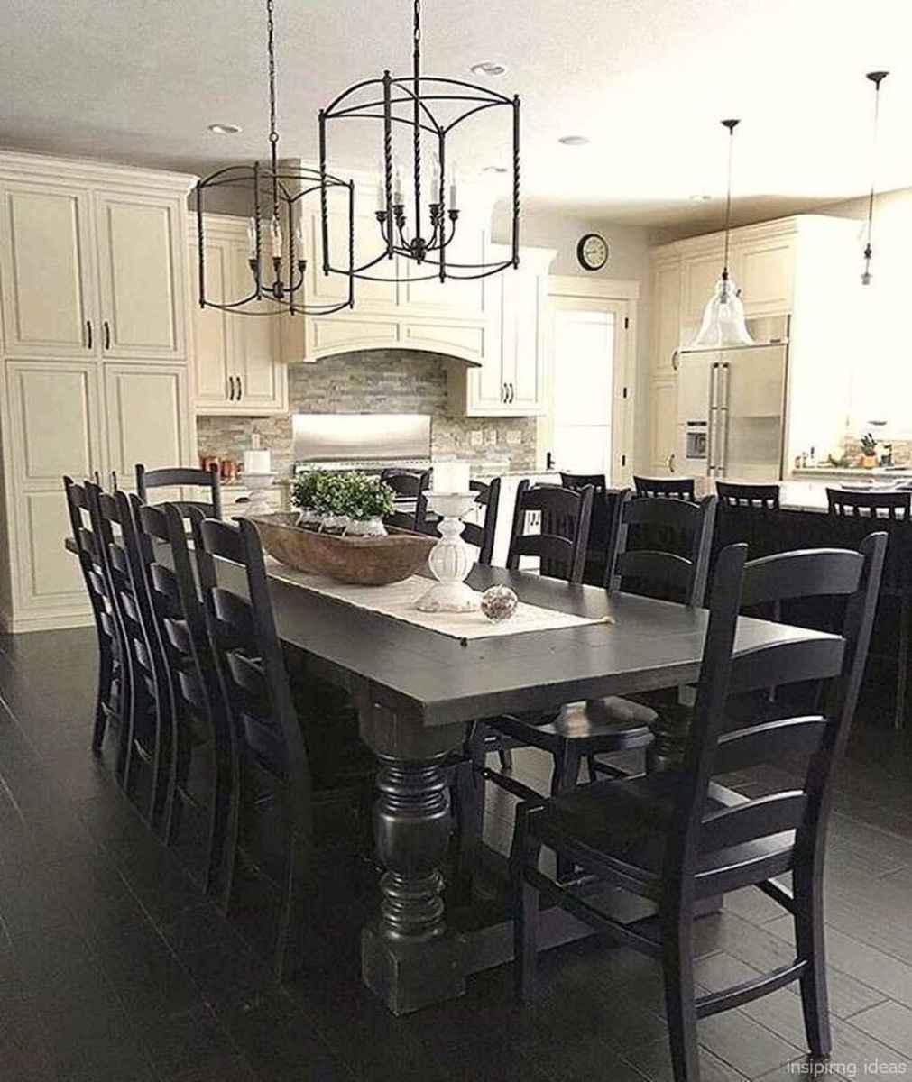Awesome farmhouse kitchen table design ideas 12