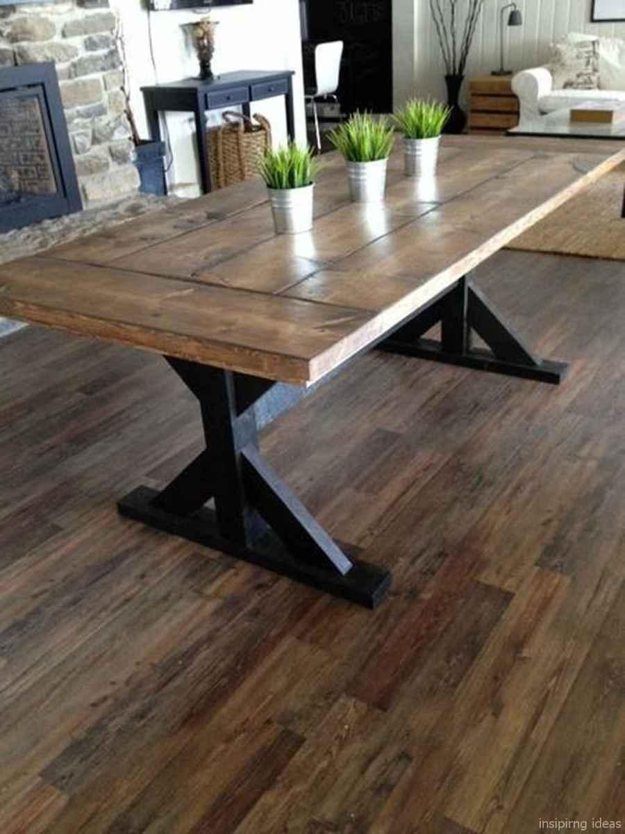 Awesome farmhouse kitchen table design ideas 16