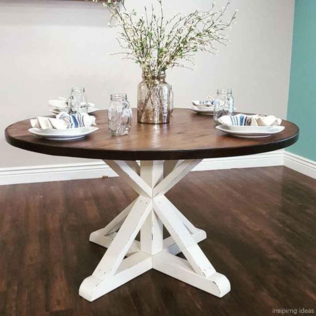 Awesome farmhouse kitchen table design ideas 18