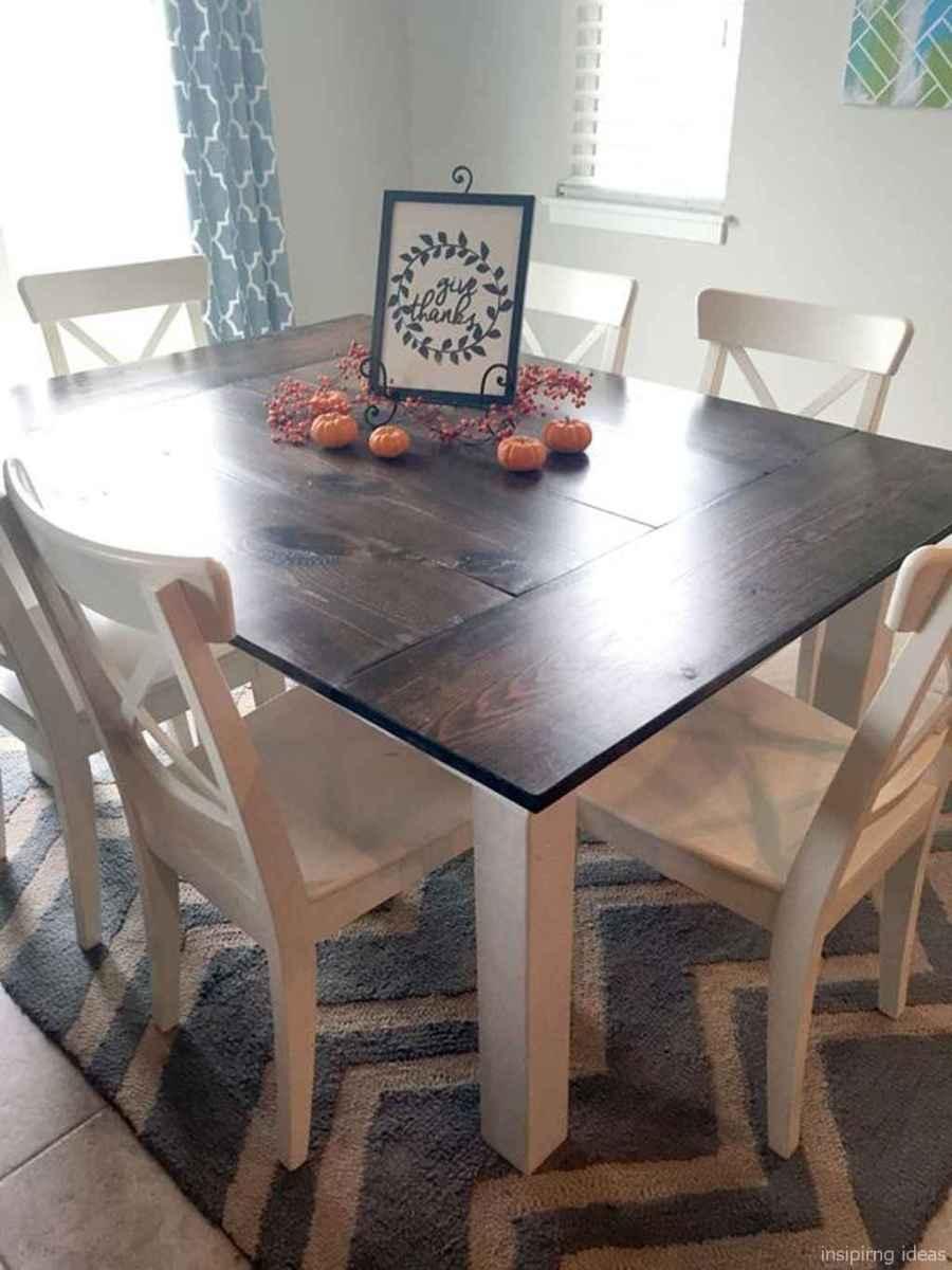Awesome farmhouse kitchen table design ideas 19