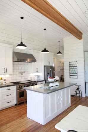 Awesome farmhouse kitchen table design ideas 33