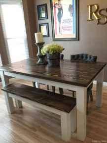 Awesome farmhouse kitchen table design ideas 39