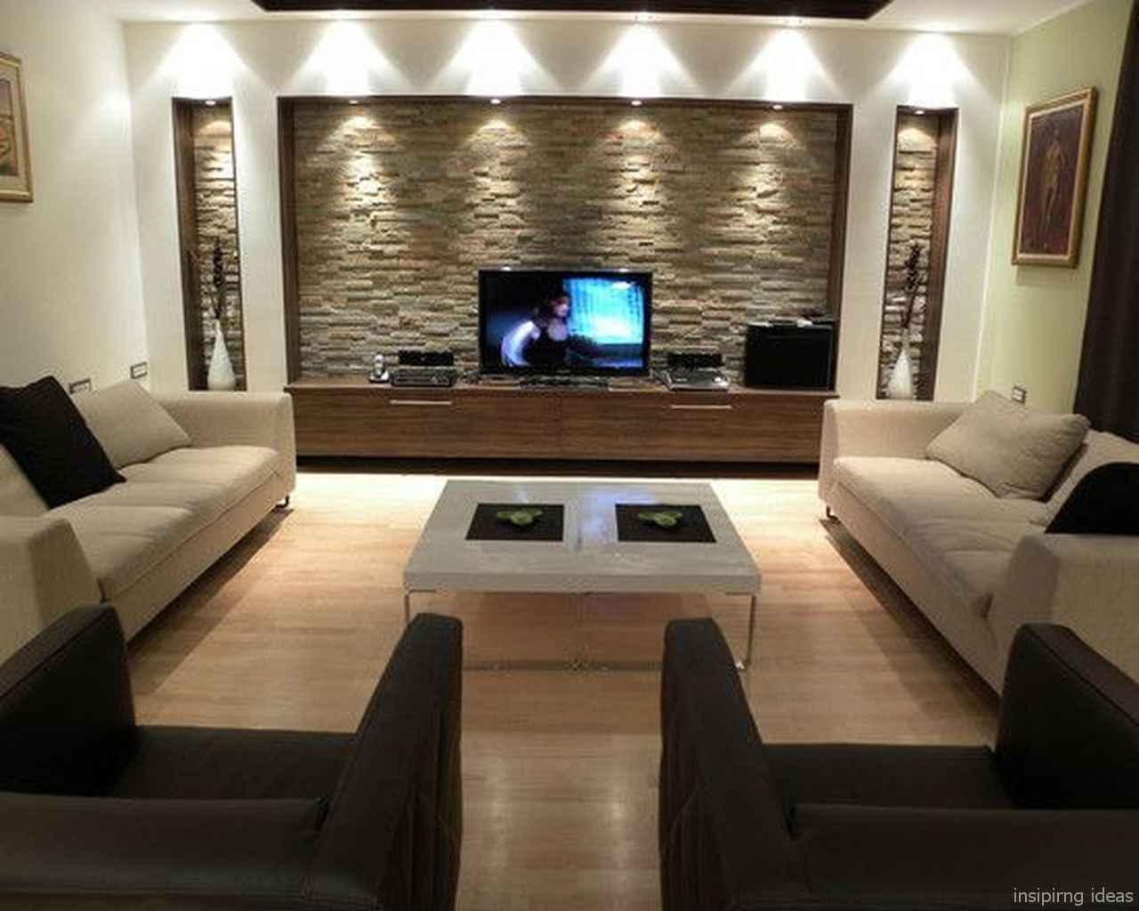 Cozy Modern Apartment Living Room Decorating Ideas On A Budget 04