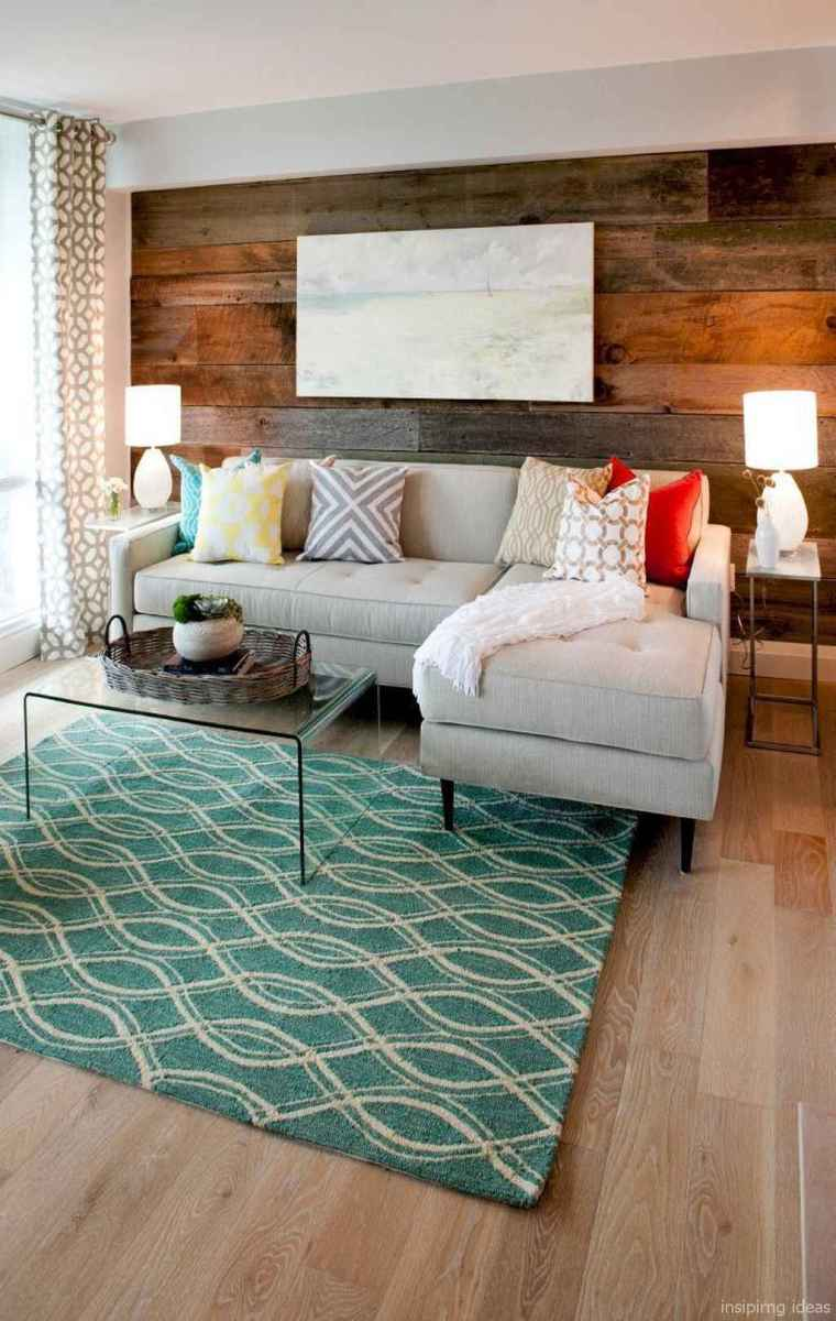 Cozy modern apartment living room decorating ideas on a budget 05