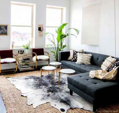 Cozy modern apartment living room decorating ideas on a budget 11